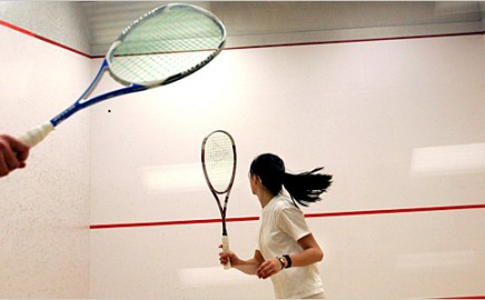 Want to play squash or racketball?
