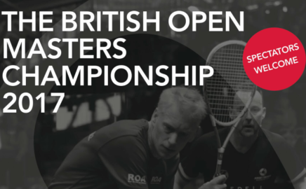 Enter the British Open Masters!