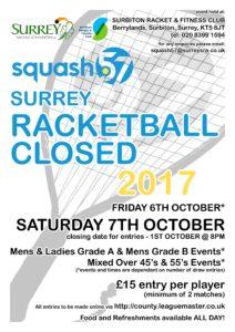 1-Squash 57 - Surrey Closed 2017