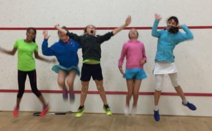 Jumping for Joy at the JICC!