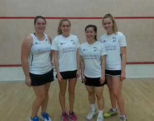 4th Nov Surrey Ladies 2nd Team DL Hampton